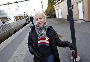 Camilla Hessel, 34 år, från Göteborg. – Jag ska hälsa på en kompis. Vi ska ha tjejhelg med god mat och gott vin.