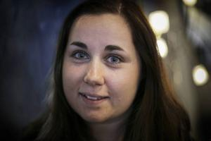 Emma Arnesson blev hyllad av två olika personer som har henne som sin kvinnliga förebild.