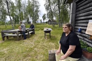 Ann-Christine Wennér öppna sitt café nu på fredag. Foto: Nisse Schmidt