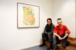 Karin Wikström och Rebecca Burkhalter träffades under studietiden på Valands Konsthögskola. Nu ställer de ut tillsammans.