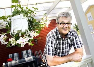 Bernt Johansson fortsätter att träffa sina diabetespatienter även som folkpensionär.