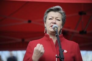 Arbetsmarknadsminister Ylva Johansson (S) är med säkerhet en av kandidaterna till partiledare efter Stefan Löfven.