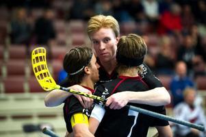 IBF Faluns superkedja med Alexander Galante Carlström, Alexander Rudd och Rasmus Enström, låg bakom fyra av lagets mål mot Dalen.