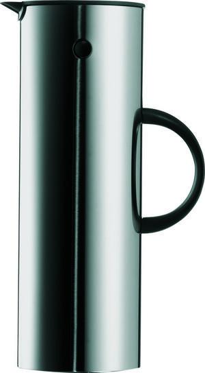 Lyx. Sedan 1977 har danska Stelton gjort sin termoskanna. Här i rostfritt stål.Höjd: 30 centimeter. Pris: 1259 kronor på Designonline.