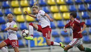 Senaste landskampen, mot Ungern, spelade danskorna med ett tillfälligt avtal. Men de vägrar att göra det igen.