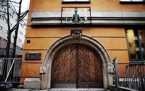 Säkerhetssalen i Stockholms tingsrätt.