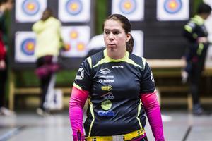 Lina Björklund vann SM-guld individuellt och i lag.
