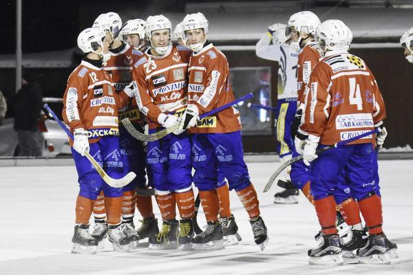 Klas Nordström gjorde två mål mot Tillberga. I helgen kan det bli ytterligare fullträffar då betydligt mer beskedligt motstånd väntar.