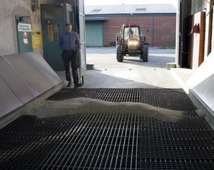 Cirka 3 000 ton räknar man med att ta emot i höst.