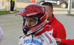 Andreas Jonsson är redo att äntra cykeln igen. Till helgen väntar flera öppna tävlingar.