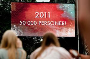 Peace & Love drar folk till Borlänge.