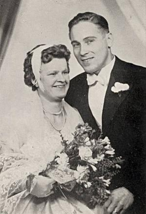 Anna och Arne Larsson, Österänge.