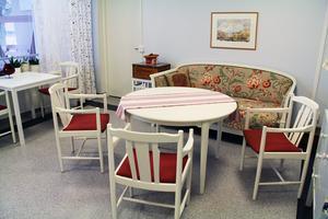 I det här rummet hos dagverksamheten har man kunnat spela olika sällskapsspel tillsammans.