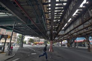 Bronx protesterar mot bilden av stadsdelen som ett