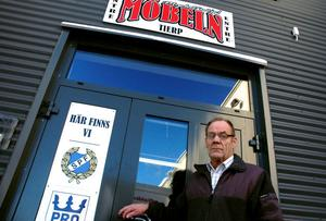 OFTA. Gert Berlin och hans PRO Tierp hyr lokaler på Möbeln för nästan 100 sammankomster om året.Foto:   Conny Svensson
