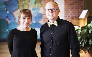 Jenny Michanek och Christer Hedlund ser fram emot 50-årsfirandet på lördag.