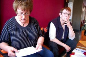 Monica Wiik Jonasson och Lena Trennefält kritiserar Strömsunds kommun eftersom den inte åtgärdat bristerna på ett LSS-boende.