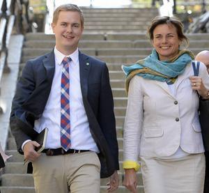 MP:s valberedning föreslår att kongressen till helgen väljer Gustav Fridolin och Isabella Lövin till språkrör för Miljöpartiet.