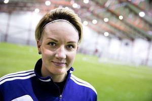Petra Johansson (tidigare Larsson) – här från sin säsong med KIK år 2014.