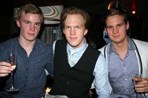 Tabazco. Hans, Filip och Ove