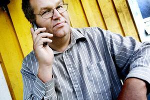 """""""Radiosystemet är osäkert"""". Ola Westman, fackklubbordförande för Swebus förare i Gävle är starkt kritisk efter biljettincidenten 12 augusti."""