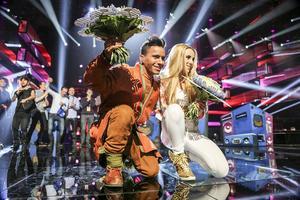 Jon Henrik och Isa, båda direkt till finalen i Stockholm den 14 mars.