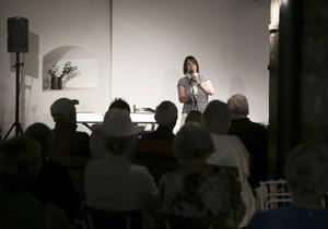 – Det har verkligen varit en händelserik sommar, säger Sanna Seppänen, kulturpedagog på Hammarbacken.