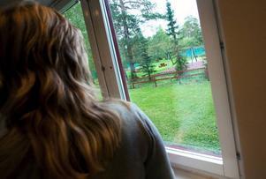 Alldeles utanför fönstret på baksidan om Försäkringskassan höll några av Östersunds gymnasieföreningar i går ett mindre lyckat inval för nya medlemmar.Foto: Håkan Luthman