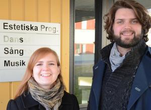 Amanda Elvin och Markus Pettersson är ett radarpar musikaliskt, dessutom är de sambos.