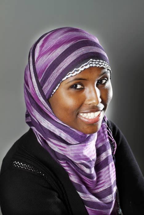 Ratt att neka muslimsk sjal