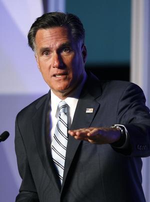 Illa ute. Republikanernas presidentkandidat Mitt Romney ligger efter i opinionsmätningarna och valdagen närmar sig. foto: scanpix