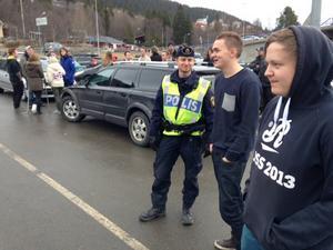 Lugnare än vanligt, säger polisen i Åre om det traditionella firandet på skärtorsdagen.