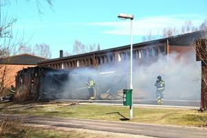 Garagebranden i Hille ser ut att förbli ouppklarad.