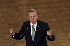 Turkiets president Recep Tayyip Erdogan vill vara den enda som har rätt att tala.