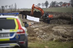 En kropp har hittats i samband med ett grävarbete på en arbetsplats i Nordanå i Staffanstorps kommun.