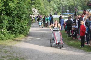 Det fanns även en klass för löp med barnvagn