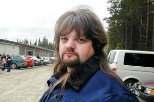 Christer Björk, besviken facklig företrädare.