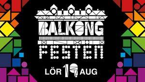 Balkongfesten på Gävle Teater.