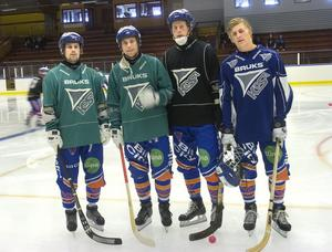 Pär Törnberg, Per Hellmyrs, Juho Liukkonen och Joel Wigren.
