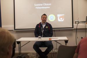 Svenne Olsson från Söderhamn är ny förbundskapten för det svenska herrlandslaget i bandy.