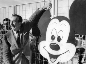 Gamle Walt Disney är för evigt förknippad med julen.