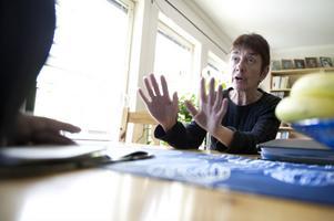 Maria Forslund är en av flera som berörts av omorganisationen vid landstingsservice det senaste året.