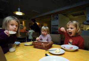 Tova Johansson, Elsa Hgöbom och Lovisa Wiksten