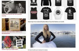 Nynazism. På sajten whiteresister.com, som Incan Löfstedt (SD) länkat till på Facebook, säljs nynazistiska tröjor, bland annat med bilder på den kände nazistledaren Rudolf Hess.