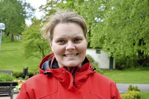 Veronica Stensson, ordförande i Sällskapet Kumla Trädgårdsamatörer.