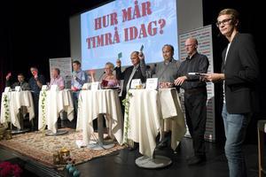 I veckan hölls första upplagan av #timråtycker där politiken i Timrå avhandlades.