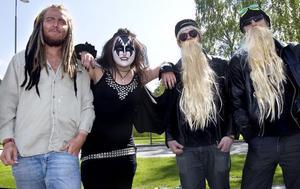 Bob Marley, Kizz och ZZ Top på samma bild? Det ordnade Axel Mohss, Lisa Hagberg, Magnus Nordin och Tim Filin.