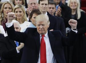 Donald Trump är USA:s 45:e president.