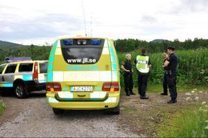 Den 86-årige mannen är nu förd till hälsocentralen i Sveg.