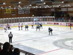 Bild från lördagens match.